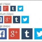 wordpressに「Social Icons Widget」でソーシャルアイコンを表示