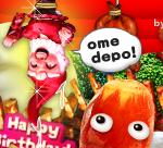 コロリポおじさんから誕生日のお祝いメッセージが届いた